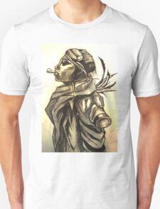 Smoking Woman Unisex T-Shirt