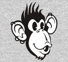 Rocking Monkey One Piece - Long Sleeve