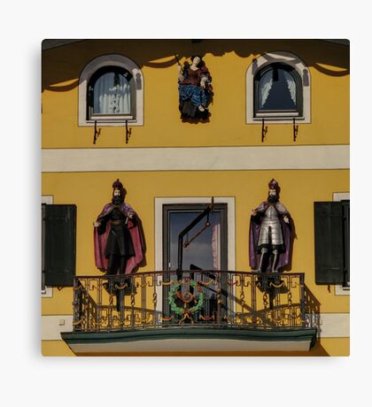 Take a look to the façade!! Canvas Print