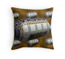 Convoy To Jupitor Throw Pillow