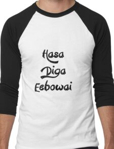 Hasa Diga Eebowai Men's Baseball ¾ T-Shirt