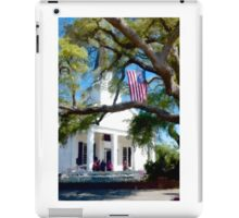 Fellowship Under The Stars And Stripes - Murrells Inlet, South Carolina USA 2015 iPad Case/Skin