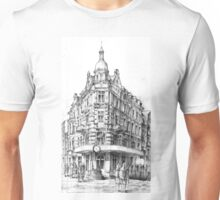 Old Torun street and crowf Unisex T-Shirt