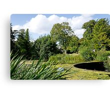 Melbourne Pool and Weir Canvas Print