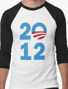 Obama 2012 Shirt Men's Baseball ¾ T-Shirt