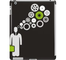 Business the person iPad Case/Skin