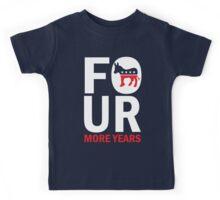 Womens Four More Years Democrat Shirt Kids Tee