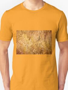 Golden cereal plant photo T-Shirt