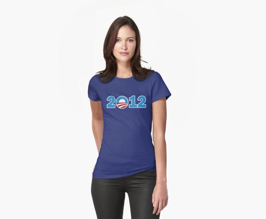 Obama 2012 Women's Shirt by ObamaShirt