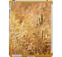 Golden cereal plant photo iPad Case/Skin