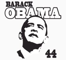 Womens Barack Obama 44th President One Piece - Short Sleeve