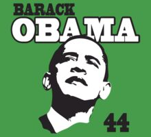 Kids Barack Obama 44th President Kids Tee