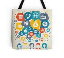 Business the person Tote Bag