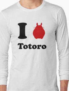 I Love Totoro Long Sleeve T-Shirt
