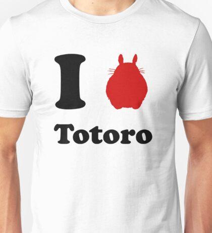 I Love Totoro Unisex T-Shirt