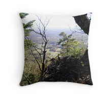 Out and down Throw Pillow