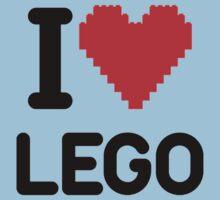 I Love LEGO Kids Tee