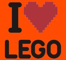I Love LEGO Kids Clothes