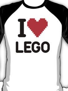 I Love LEGO T-Shirt