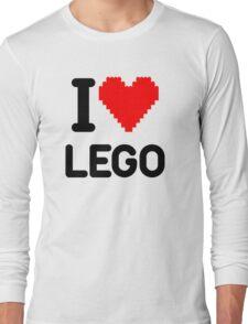 I Love LEGO Long Sleeve T-Shirt