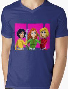 Totally Spies Mens V-Neck T-Shirt