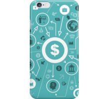 Business the scheme iPhone Case/Skin