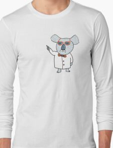Koala Nerd Long Sleeve T-Shirt