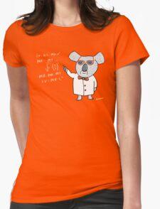 Koala Nerd Womens Fitted T-Shirt