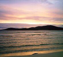 Gentle Glow - Hebridean Sunset by BlueMoonRose