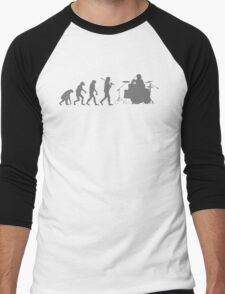 Drummer Evolution Funny Music humor Drums tee Mens T-Shirt T-Shirt