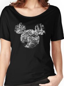 Kingdom Hearts King Mickey grunge Women's Relaxed Fit T-Shirt