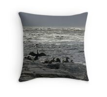 one day i'll fly away Throw Pillow