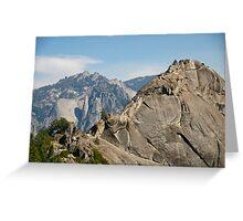 More Moro (Rock) - Taking the Summit Greeting Card