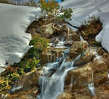 Falls below the Bogong High Plains by Kevin McGennan