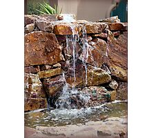 Flowing Water in the Desert Photographic Print