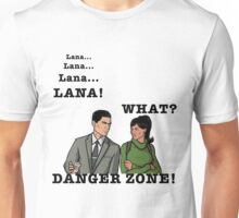 Lana The Danger Zone Unisex T-Shirt