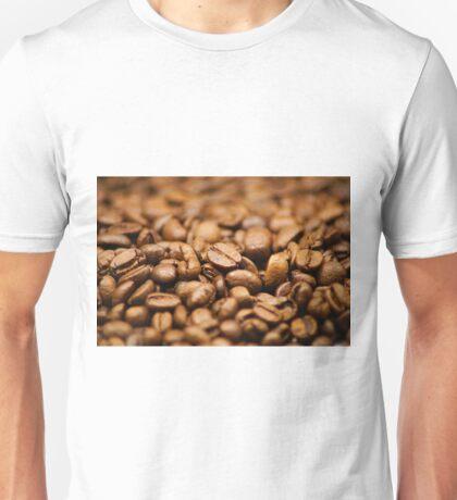 coffee beans wallpaper Unisex T-Shirt