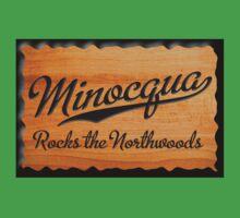 Minocqua Rocks the Northwoods Kids Clothes