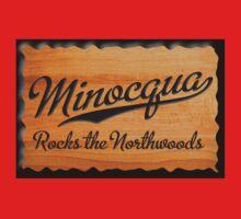 Minocqua Rocks the Northwoods Baby Tee