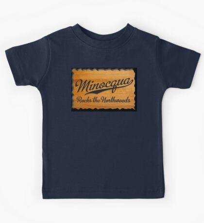 Minocqua Rocks the Northwoods Kids Tee
