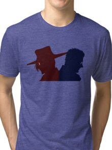 Hellsing Ultimate - Alucard vs Andersen Tri-blend T-Shirt