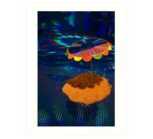 Laser Lagoon Art Print