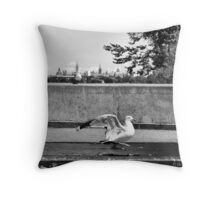 The Handsome Prince Throw Pillow