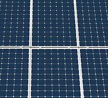 Solar Cell Panel by luckypixel