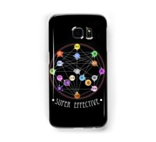 Pokemon Super Effective Type Chart Samsung Galaxy Case/Skin