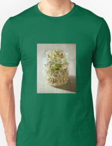 Many cereal sprouts growing Unisex T-Shirt