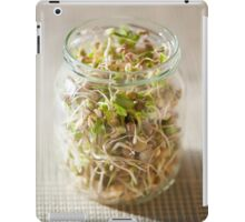 Many cereal sprouts growing iPad Case/Skin
