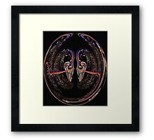 Face-Off Framed Print