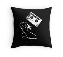 Happy tape Throw Pillow