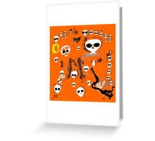 Aboriginal Aliens by Raphael Terra Greeting Card